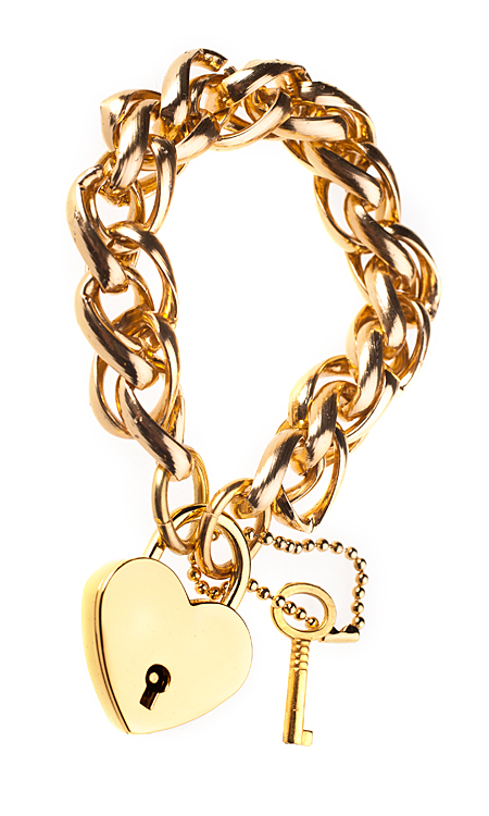 jewelry продуктова снимка на гривна заключено сърце