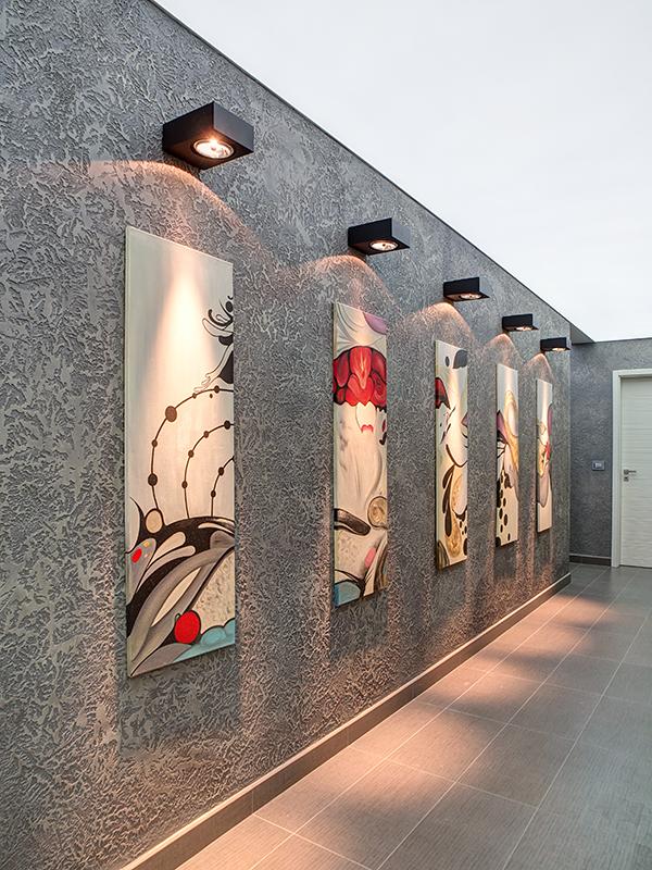 interiori Chuchuline коридор с LED осветление