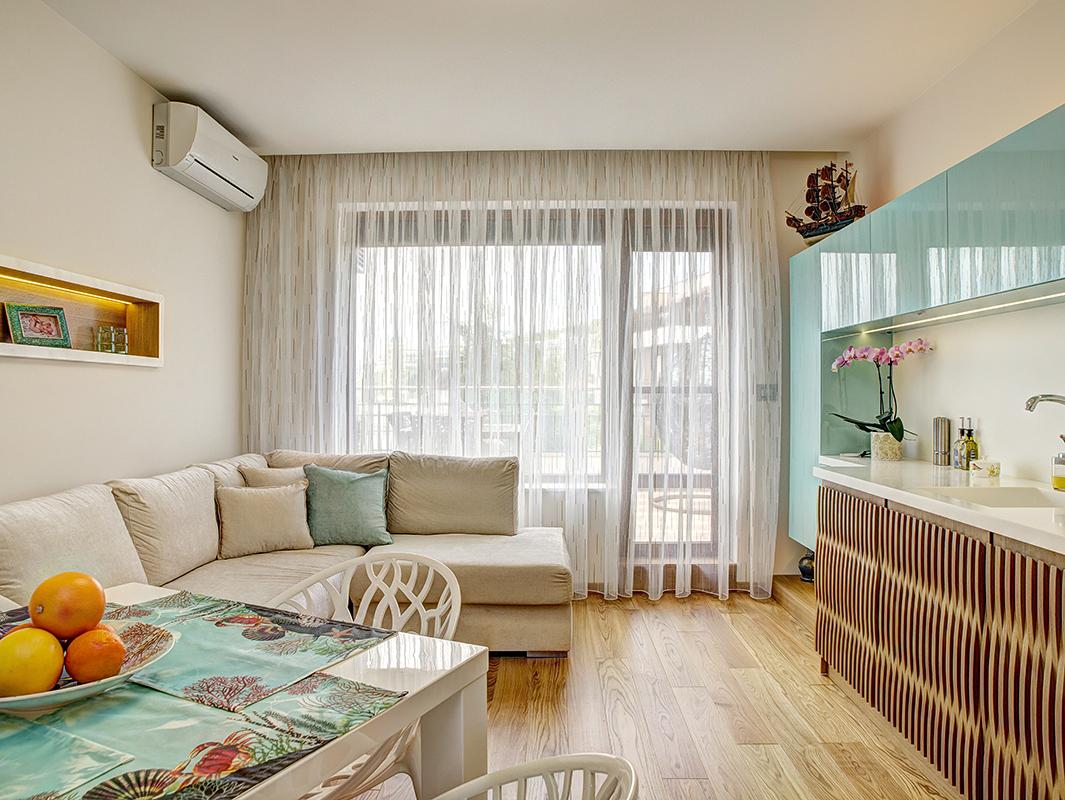 интериорна фотография interiori Chuchuline ваканционен апартамент св. Влас