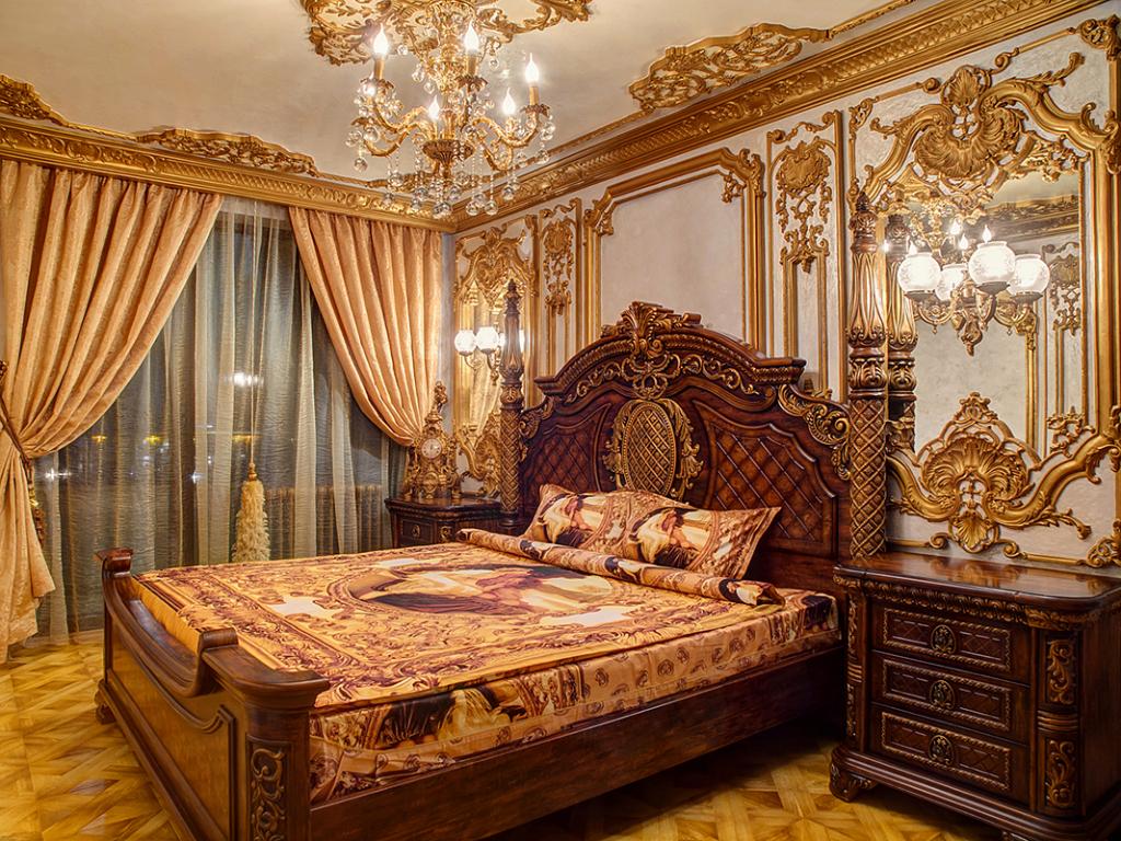 интериорна фотография интериор стил Луй XV
