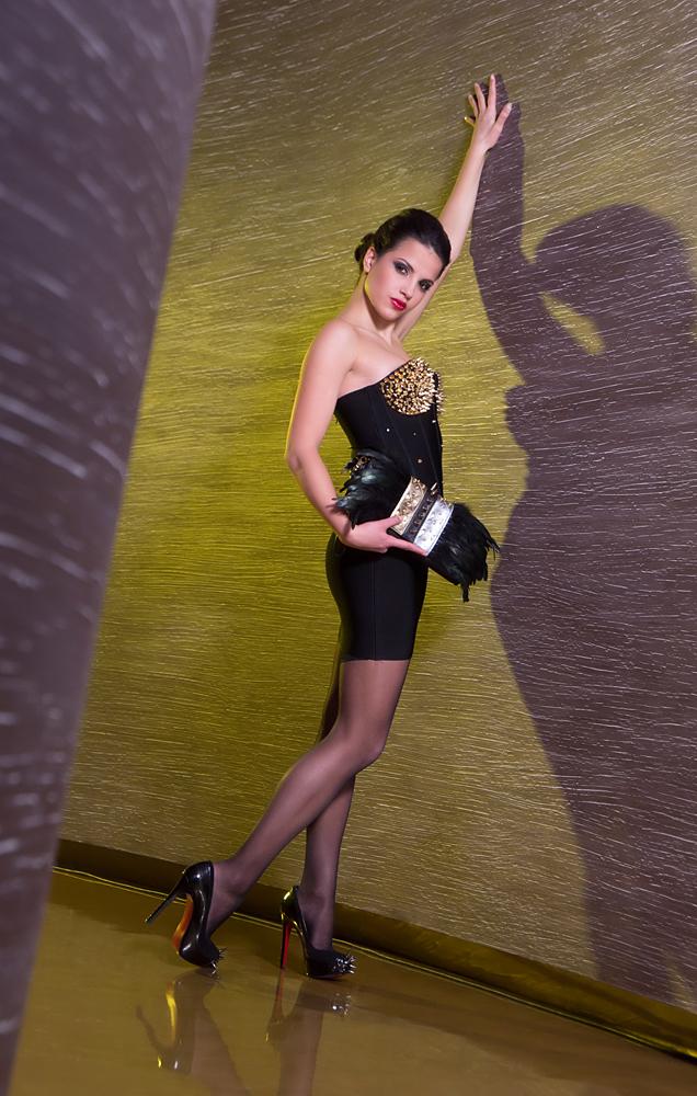 Вероника Биковска фото-сесия в Les Fleurs Boutique Hotel