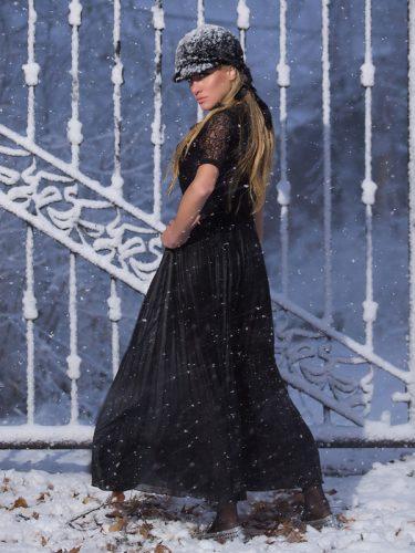 Алина Дуарте winter фото-сесия